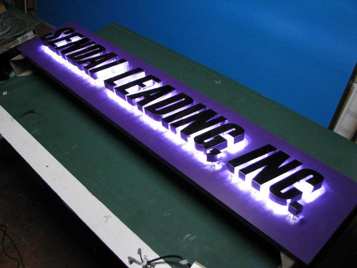 仙台リーディング LEDバックライト 施工実績1