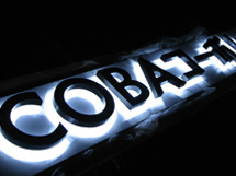 COBAコーポレーション LEDバックライト 施工実績