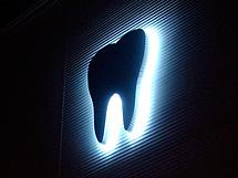 歯科医院 LEDバックライト 施工実績