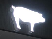 ソーセージファクトリー LED電飾看板 施工実績